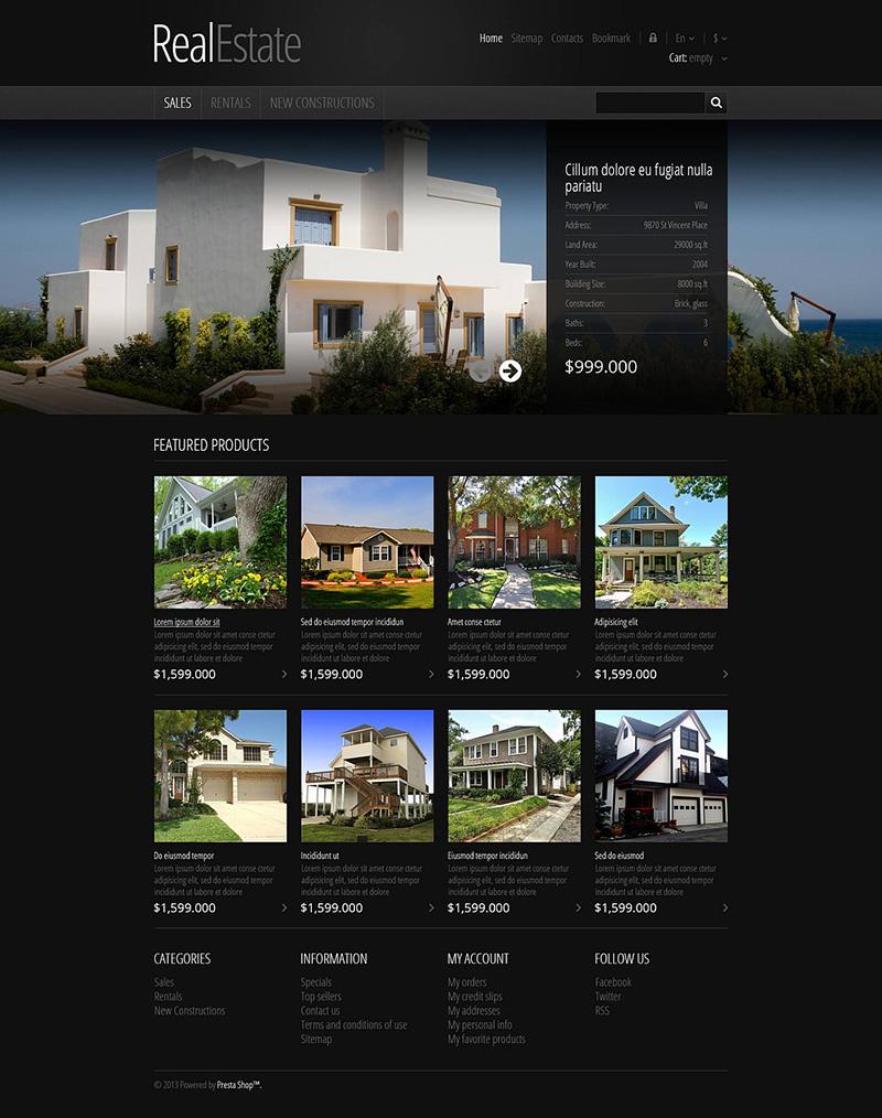 Real Estate Prestashop Theme