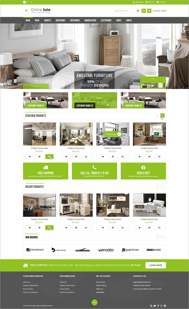 Real Estate PrestaShop Themes & Templates | Free & Premium ...