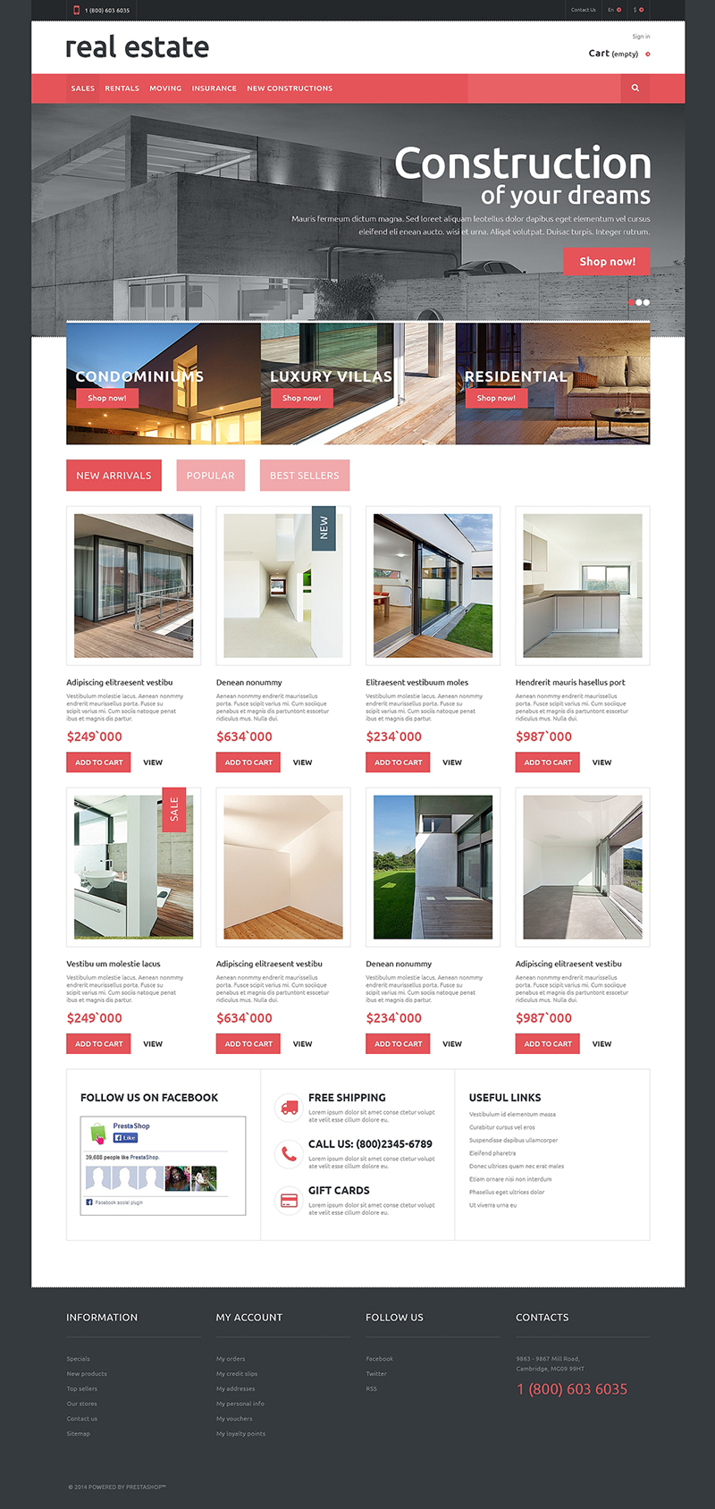 Real Estate Theme Premium