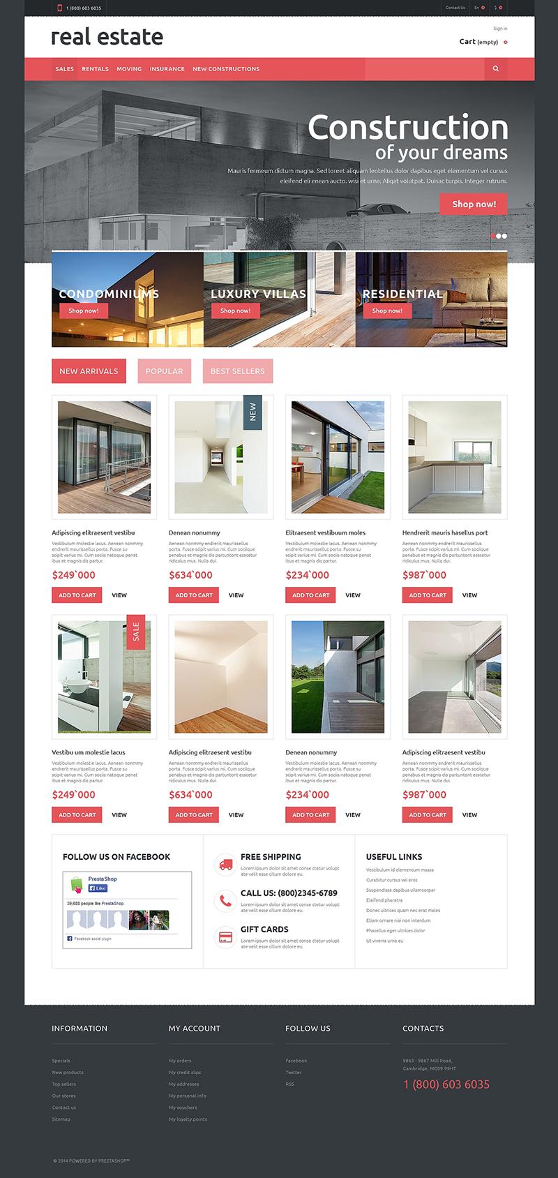 Real Estate Theme Premium