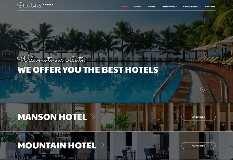 Resorts Joomla Template