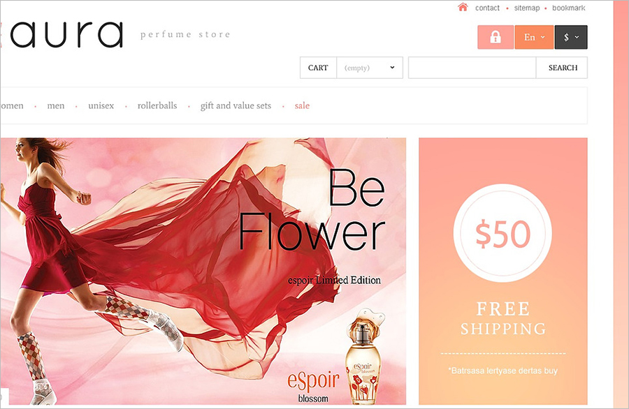 Responsive Beauty & Cosmetics Store PrestaShop Theme