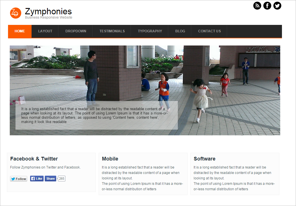 Responsive Business Drupal Theme Free Download
