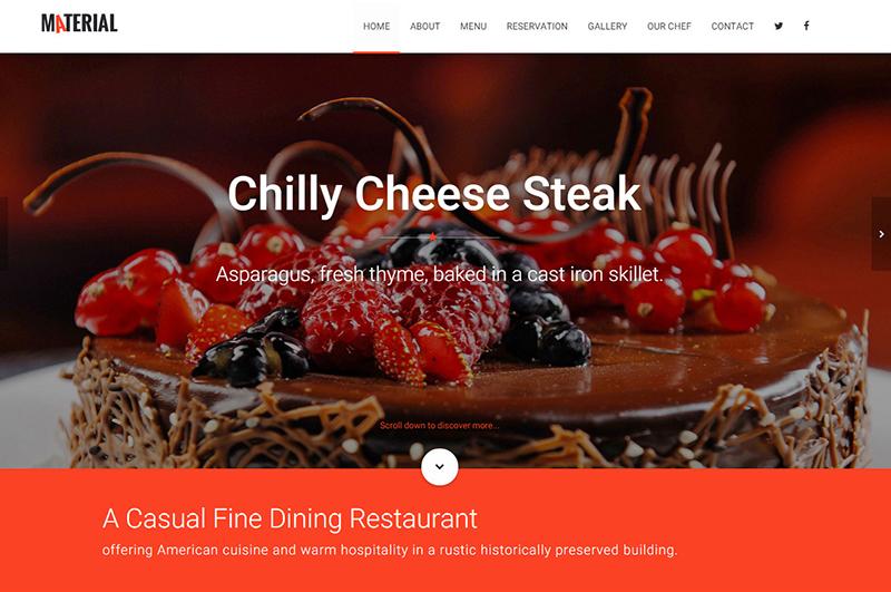 Responsive Coffe Shop HTML Template