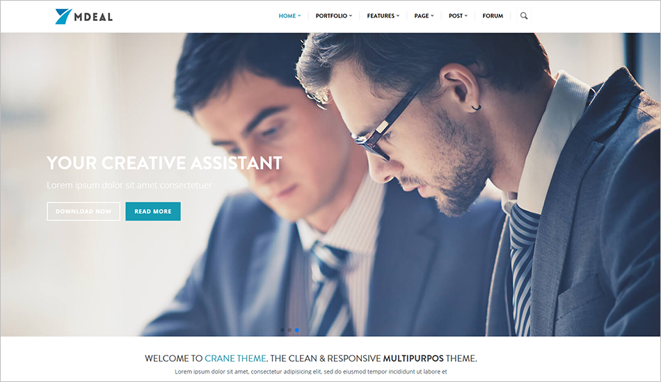 Responsive Corporate Business Drupal Theme