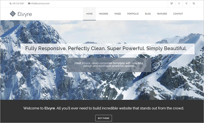 Responsive Drupal Corporate Theme