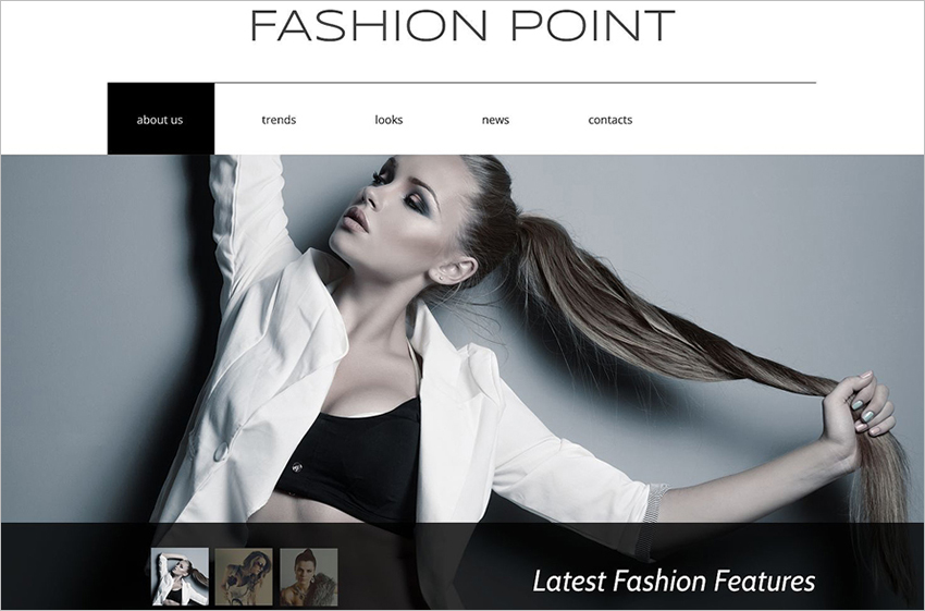 Responsive Fashion Agency Drupal Template