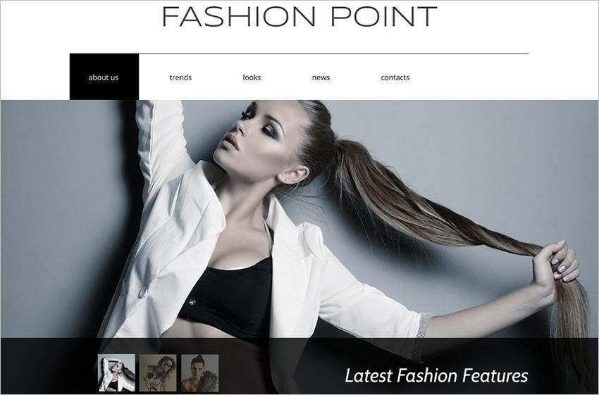 Responsive Fashion Agency Drupal Template
