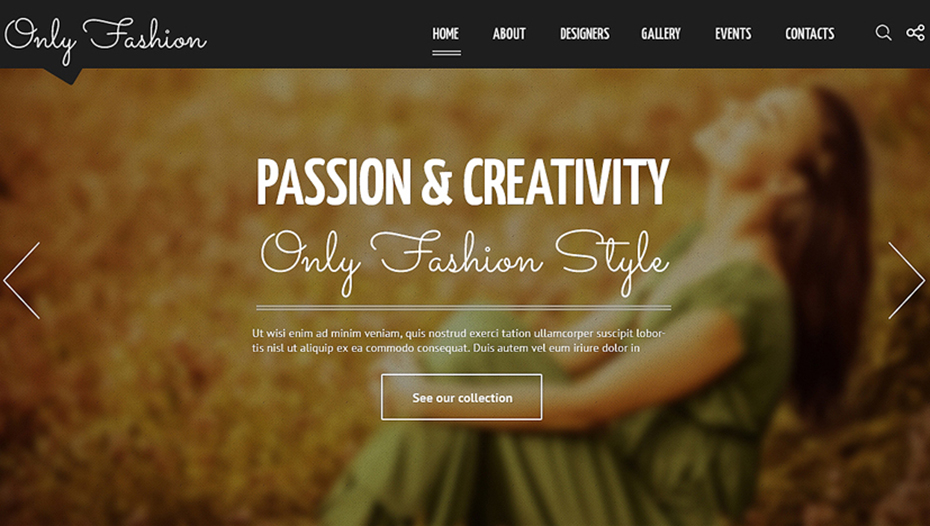 Responsive Fashion Blog Joomla Template