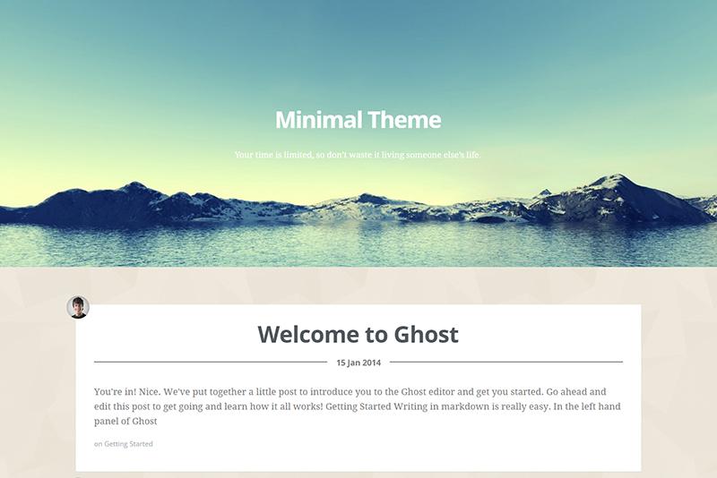 Responsive HTML5 Blog Template