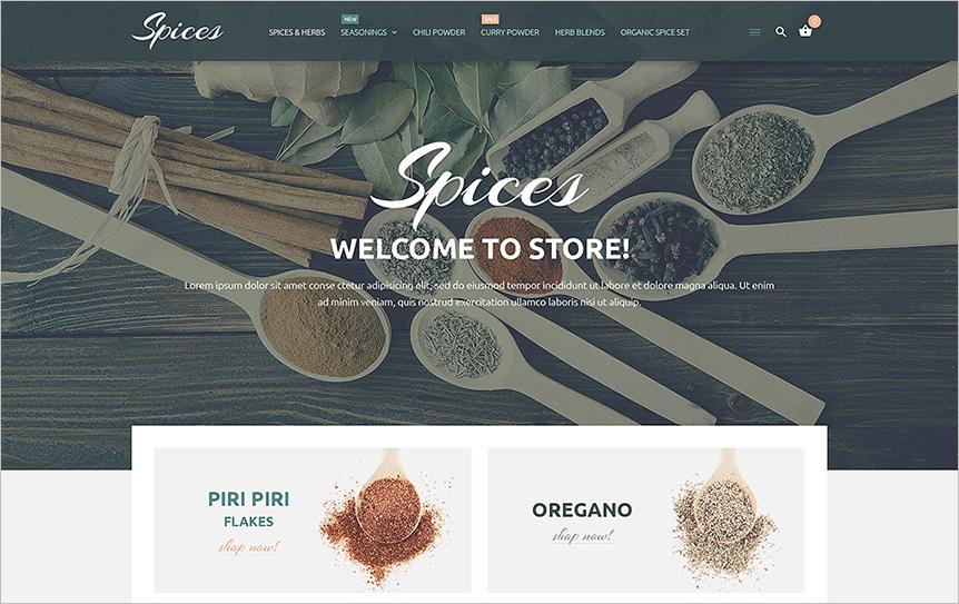 Responsive Magento Online Shop Theme