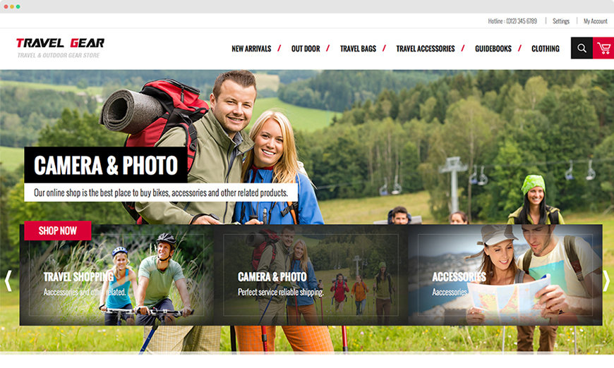 Responsive Magento Sports Theme With Deal Offering Tool