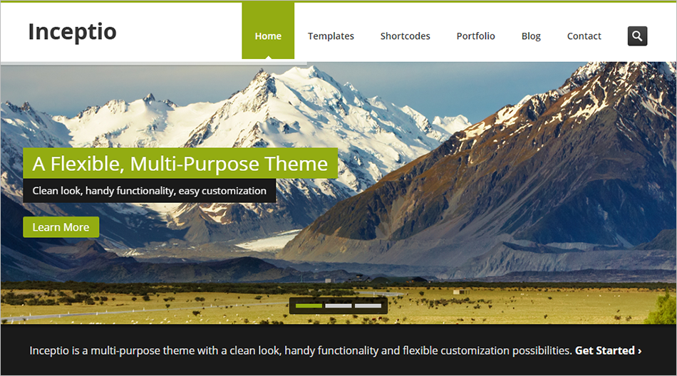 Responsive Multi-Purpose PHP & HTML Template