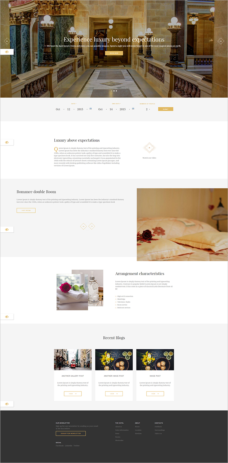 Responsive Travel Drupal 7 Theme