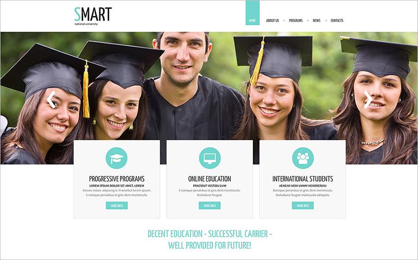 Responsive University System Drupal Theme