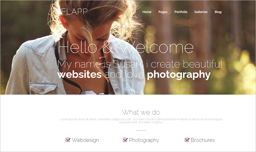 Responsive WordPress Personal Theme With JQuery