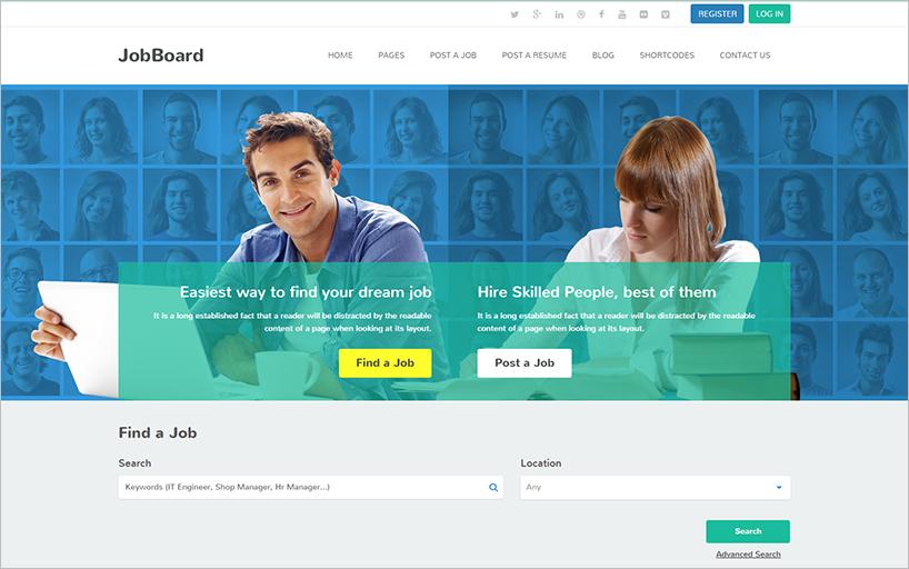 Responsive WordPress Theme With Jquery Slider & Carousel