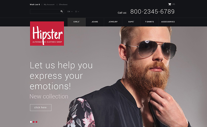 Responsive eCommerce Site With Added JQuery