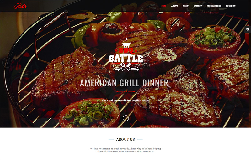 Restaurant HTML Website