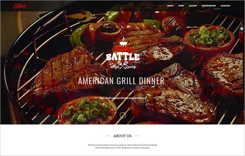 Restaurant HTML Website