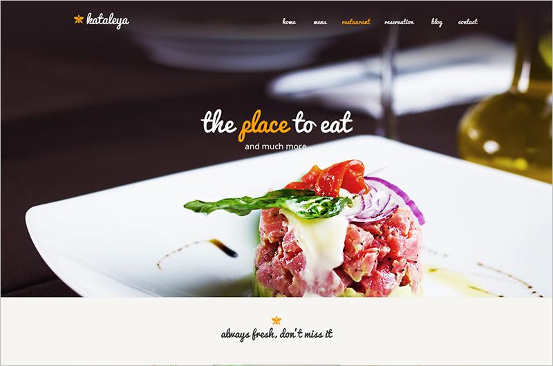 Restaurant Pizza Coffee HTML Template