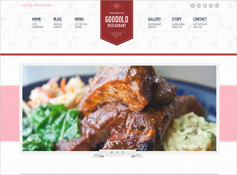 Restaurant Website Templates HTML5