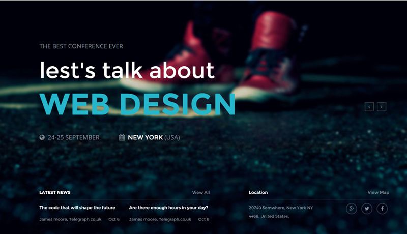 SEO Friendly Responsive Bootstrap Landing Page Template