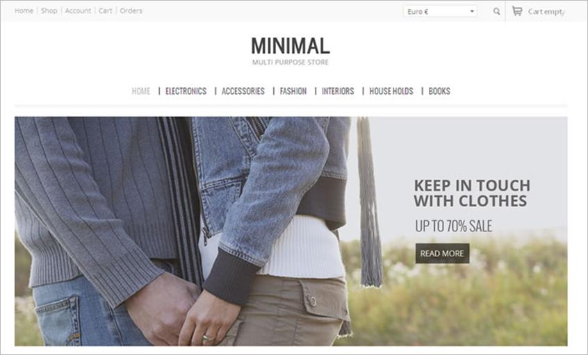 SEO Friendly WebSite VirtueMart Theme