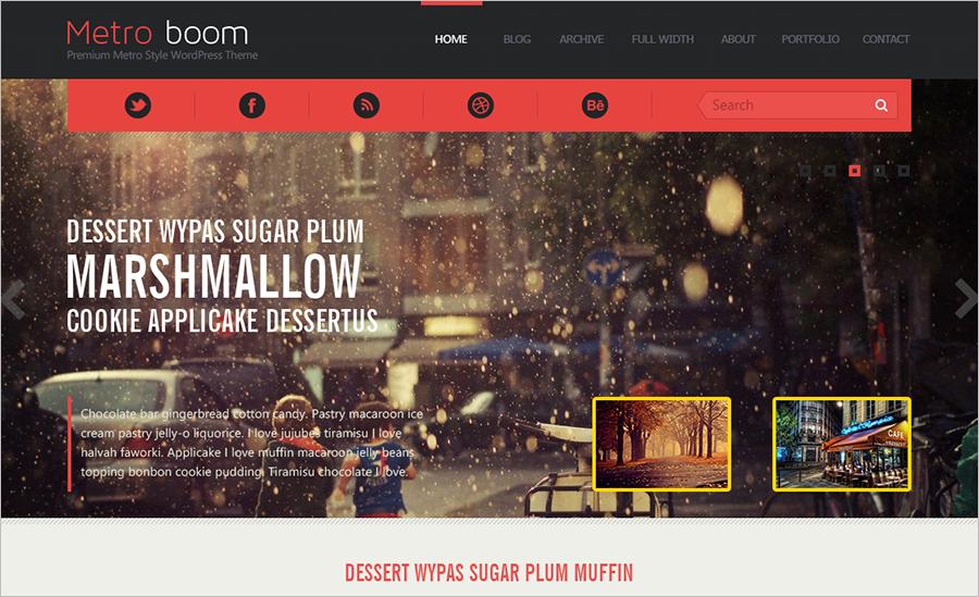 SEO Friendly WordPress Blog Template