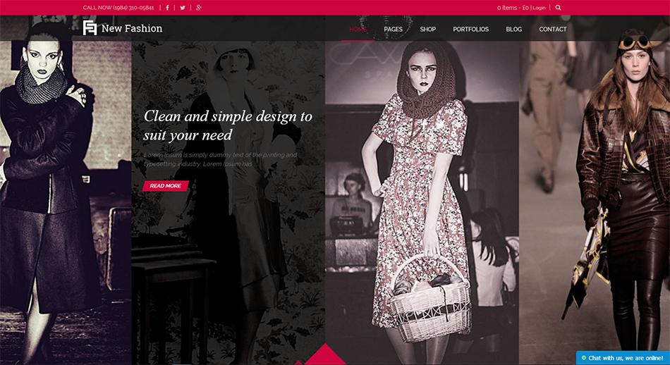 SEO Optimized Fashion Blog WordPress Theme