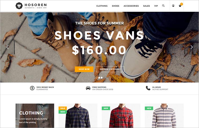 SEO Optimized Fashion Store Magento Theme