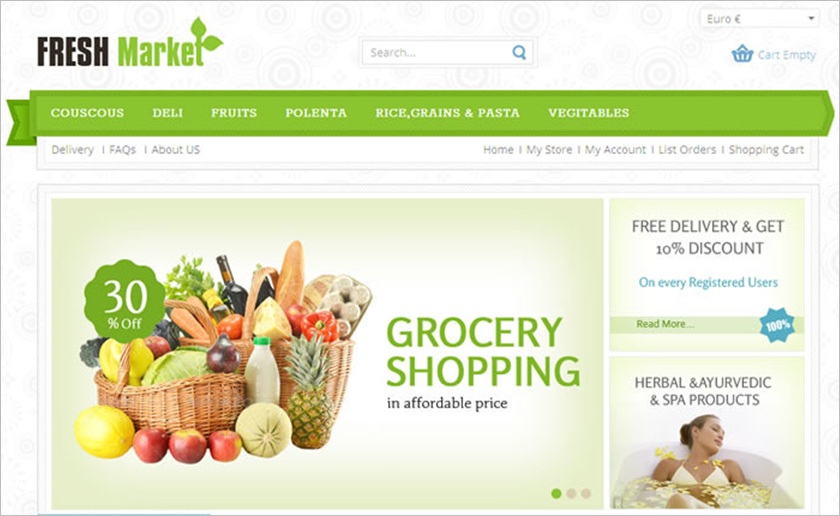 SEO Optimized Responsive VirtueMart Template