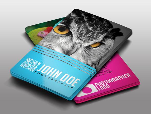 Sample Photo Business Card