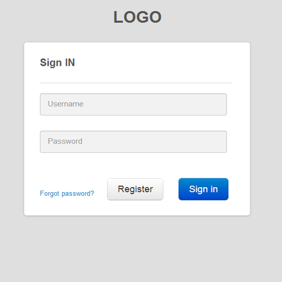 simple php template system - 10 php login form templates free premium