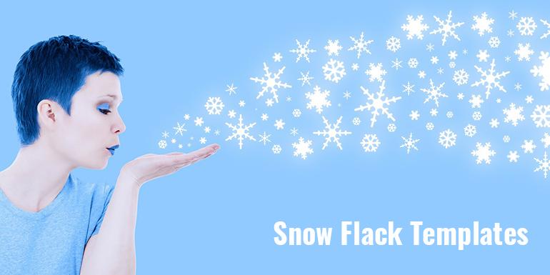 Snow Flake Templates