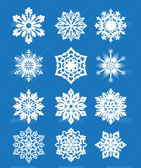 Snow Flakes Set