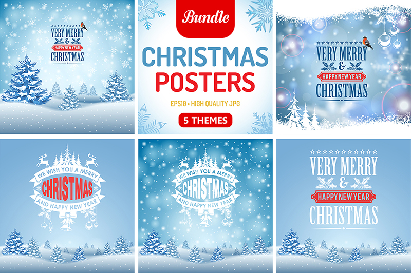 Snowflake Posters