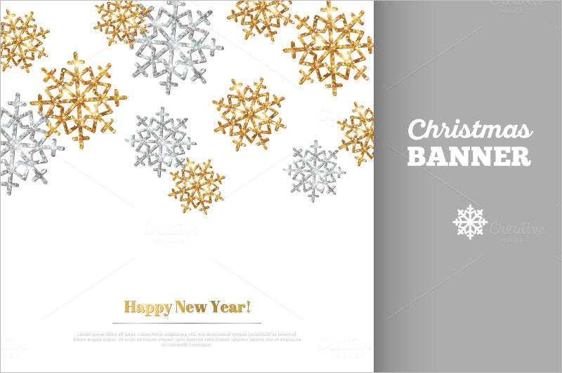 Snowflakes Christmas Banners