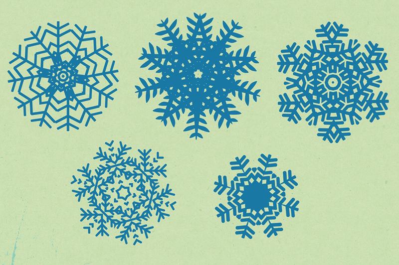 Snowflakes Designs Pack