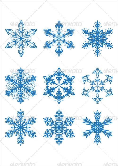 Snowflakes Symbols