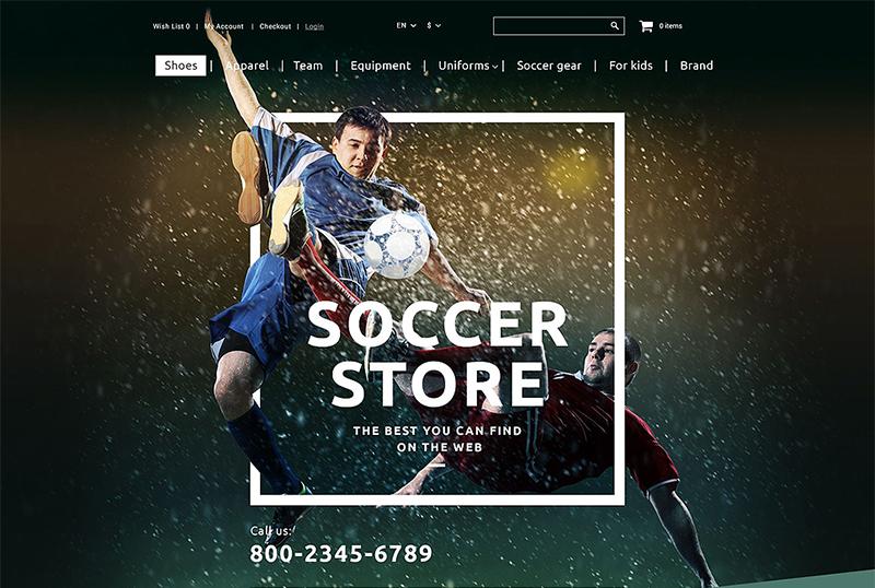Sport Store OpenCart Template