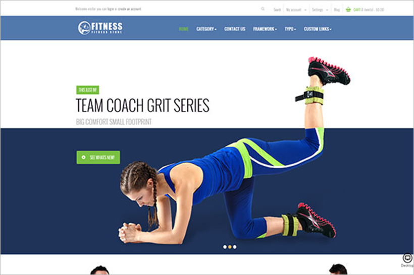 Sports & Activities PrestaShop Template