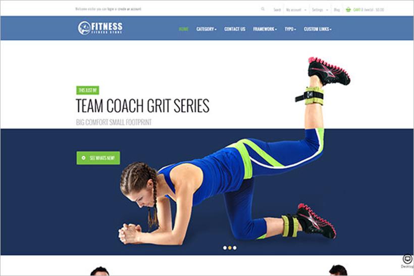 Sports & Activities PrestaShop Template