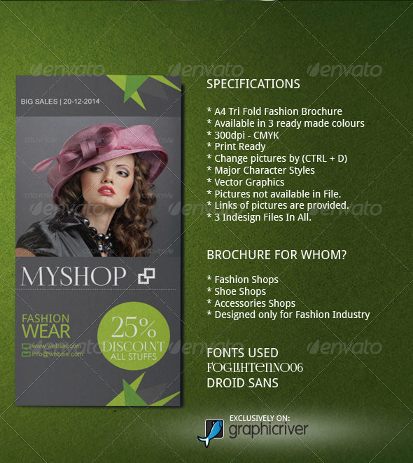 Fashion Event Brochure