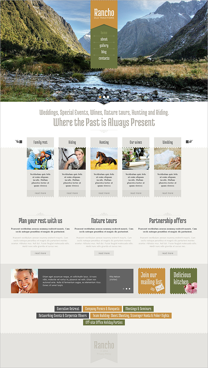 Travel Guide Drupal Template