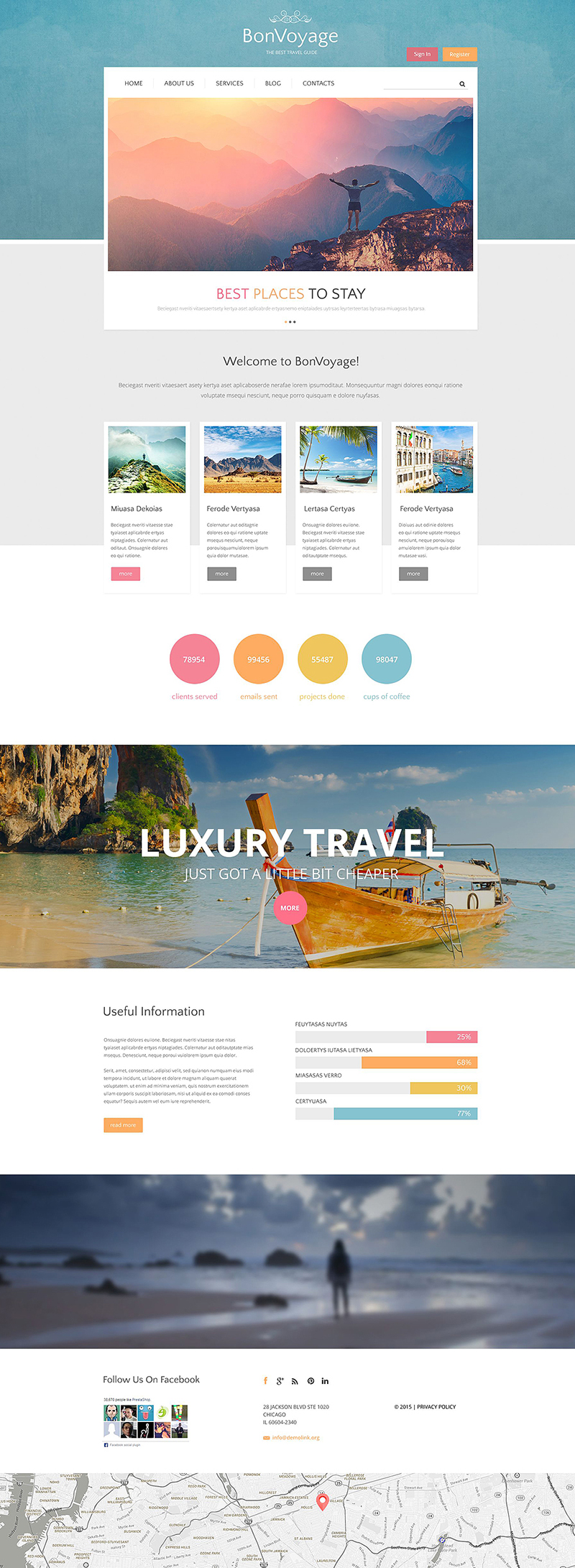 Travel & Out Door Drupal Website Template