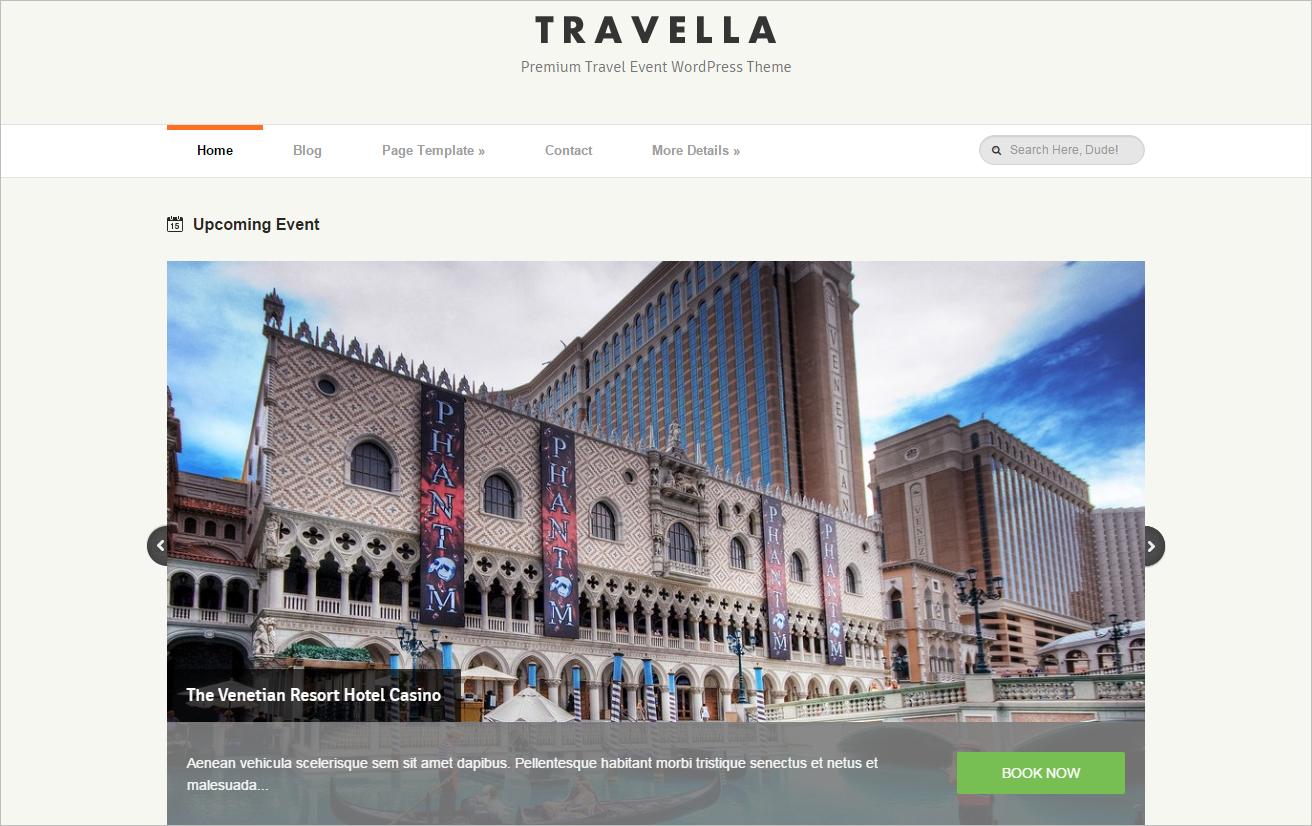Traveller Blog Template With Google Maps Integration