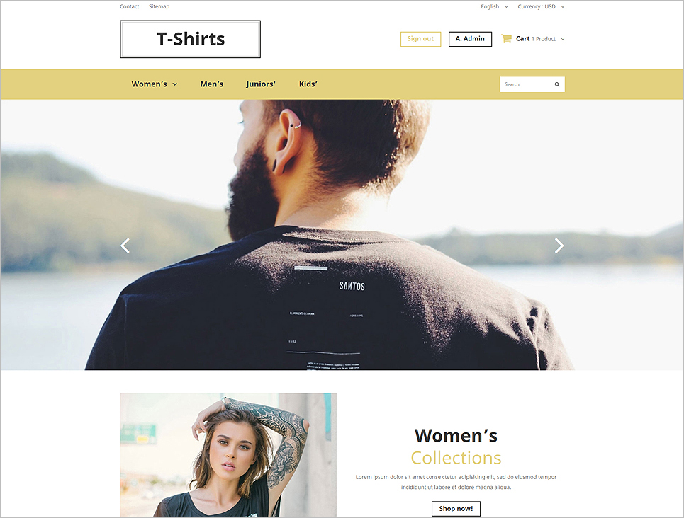 Trendy Fashion PrestaShop Theme