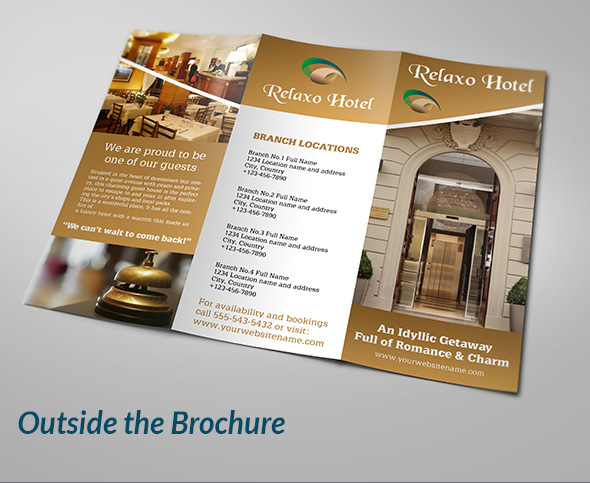 hotel brochure templates 28 images restaurant brochure designs – Sample Restaurant Brochure