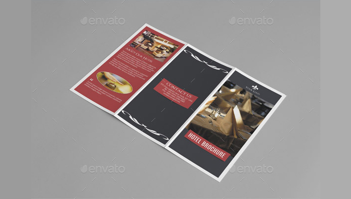 Trifold Hotel Brochure